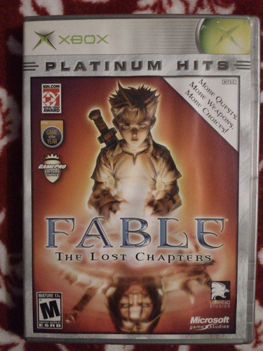 fable the lost chapters xbox