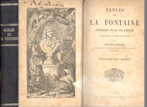 fables de la fontaine - illustrations par k. girardet