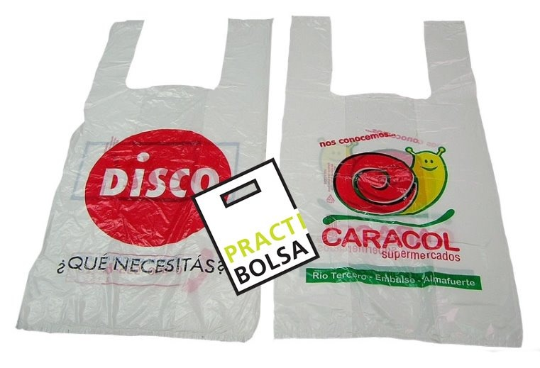 d1ee1e322 Fabrica Bolsas Camiseta Impresas Logo Polietileno Blanco - $ 1,90 en ...