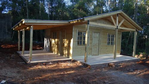 fabrica casas cabaña