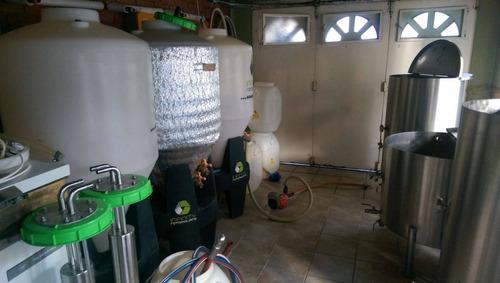 fabrica cerveza artesanal 300 lts