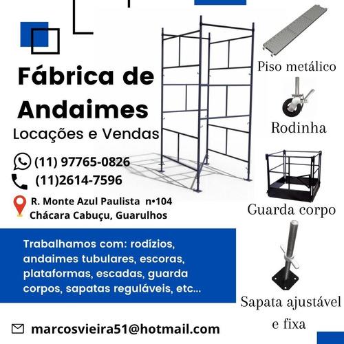 fábrica de andaimes- locações e vendas