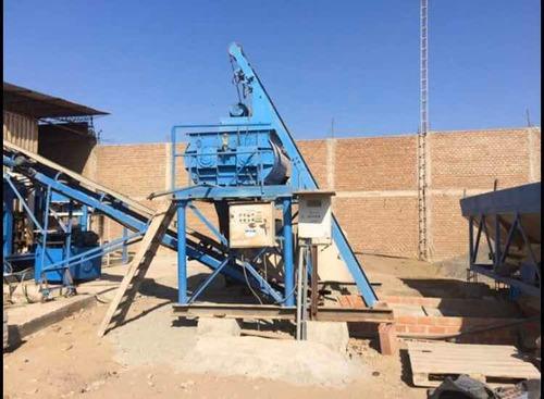 fabrica de bloques y adoquines de concreto, chiclayo