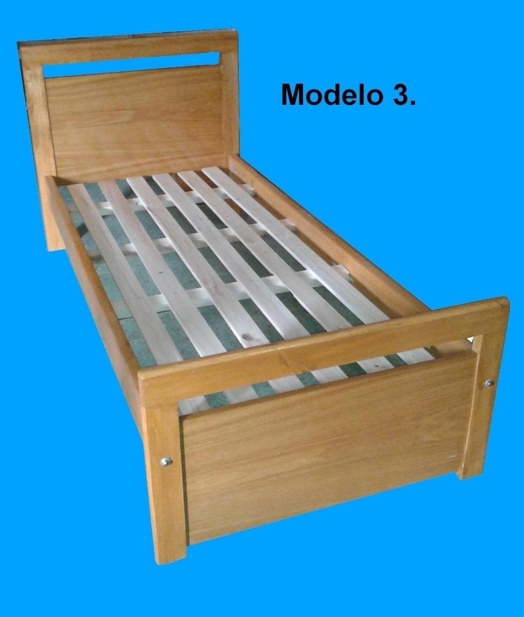 Fabrica De Camas De Una Plaza En Madera /serie A Muebles/ - $ 4.970 ...