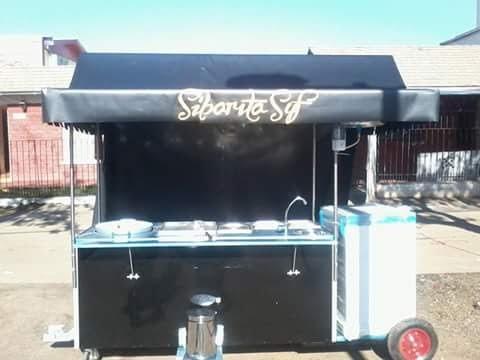 fabrica de carros de comida gastronomico acero inoxidable