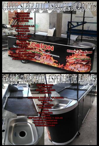 fabrica de carros de comida rapida y trailer