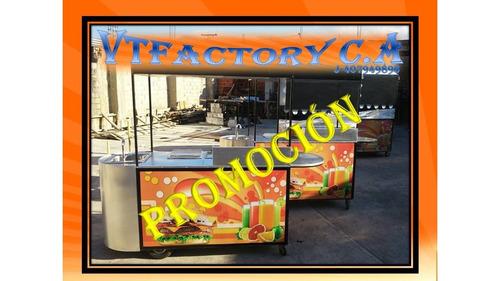 fabrica de carros y trailers para comida rápida vtfactoryc.a