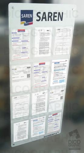 fabrica de carteleras fiscales e informativas