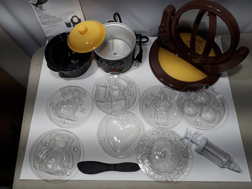 fabrica de chocolates rellenos nostalgia rotor olla y moldes