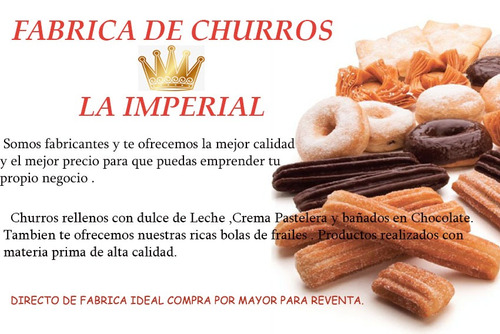 fabrica de churros  la imperial