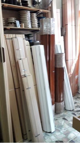 fábrica de cortinas enrollar de madera común y tipo barrio
