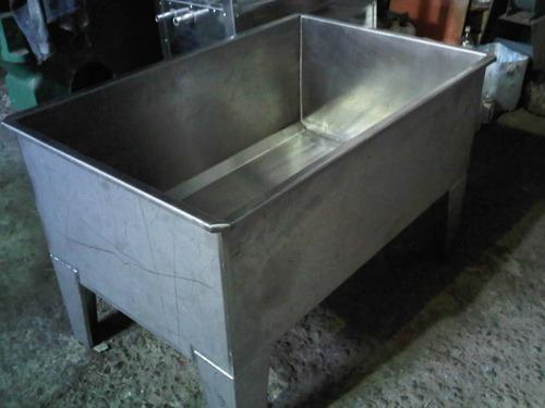 fabrica de equipos en acero inox. tanques, tinas, mesa y mas
