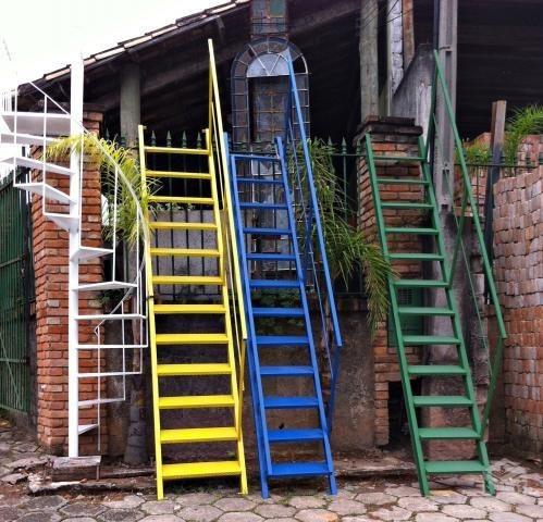 fábrica de escadas de ferro