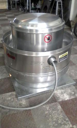 fabrica de extractores tipo hongo y ventilación