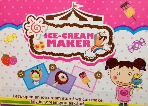 fabrica de helados - ice cream maker fun diy para 3 años +