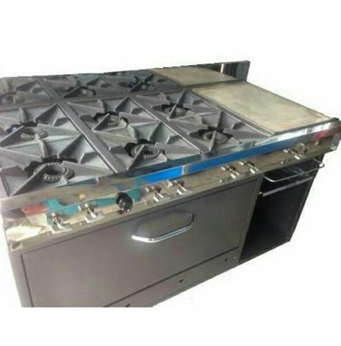 fabrica de hornos panaderia  cocinas de 4 y 6 hornillas