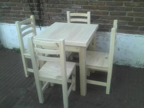 fabrica de mesas bar 70 x 70 estanterias barras amoblamiento