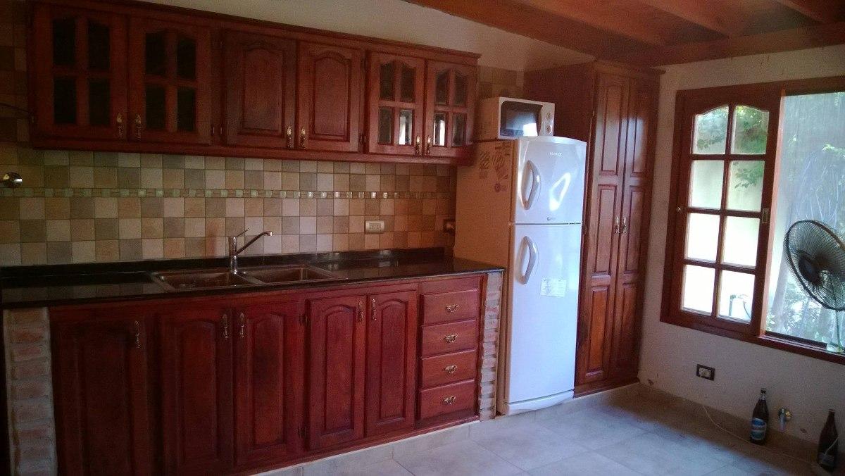 Fabrica De Muebles De Cocina De Algarrobo. Precio Por 1 M - $ 7.500 ...