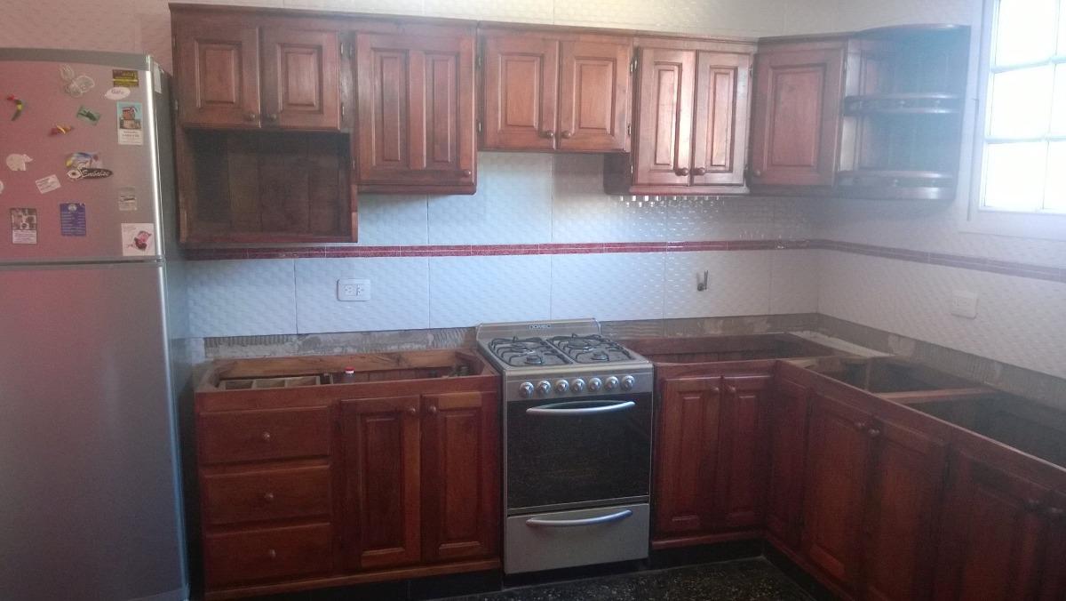 Fabrica De Muebles De Cocina De Algarrobo. Precio Por 1 M - $ 6.500 ...