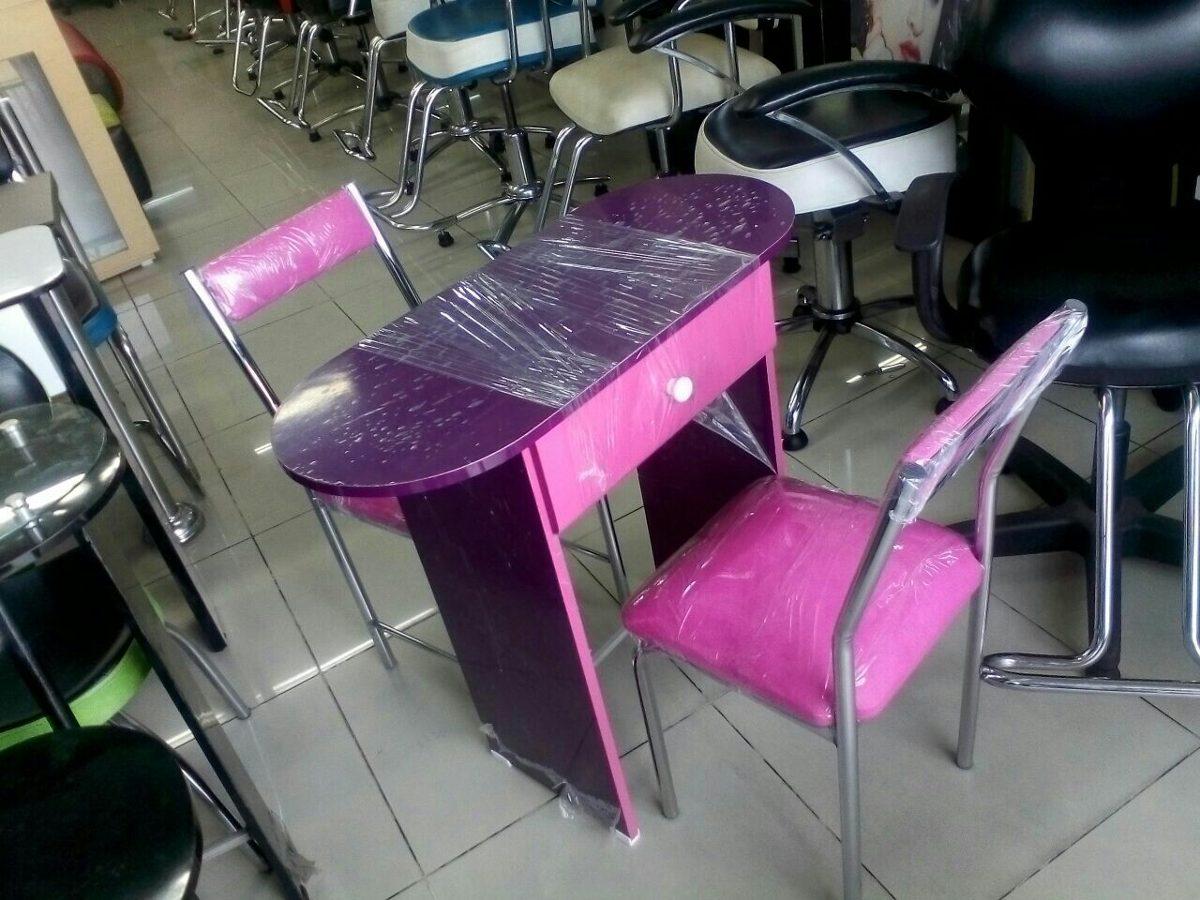 Fabrica de muebles para peluqueria sillas y mesa de for Sillas para manicure
