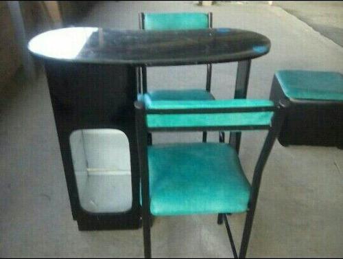 fabrica de muebles para peluqueria sillas y mesa de manicure