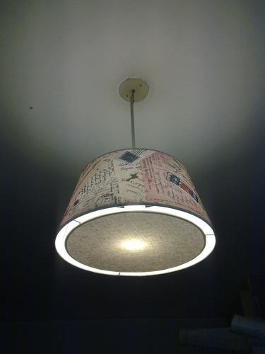 fabrica de pantallas artesanales,lamparas,colgante de techo