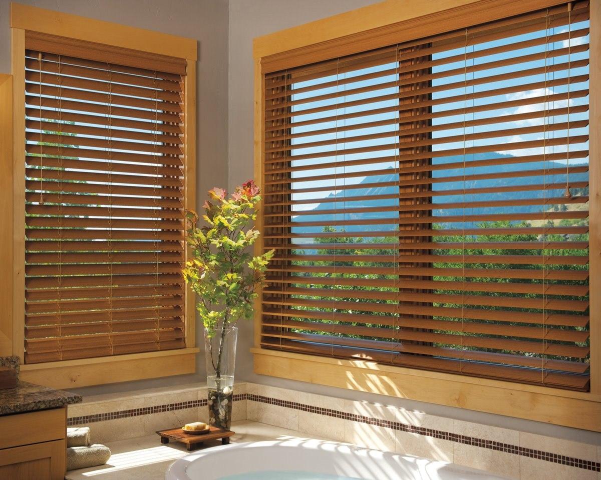 Resultado de imagen para persianas de madera