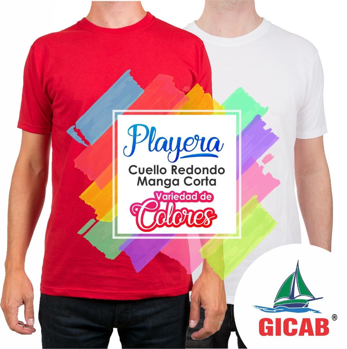 Fabrica De Playeras Gicab -   29.50 en Mercado Libre ff93c115d1751