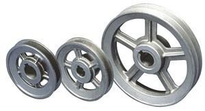 fabrica de poleas, cuplones, aspas, acoples hierro, aluminio