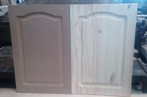 fabrica de puertas alacena y bajomesada pino, mdf 60x40cm.