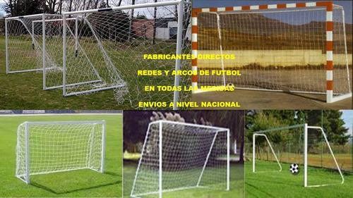 fabrica de redes y arcos de fútbol en toda medida