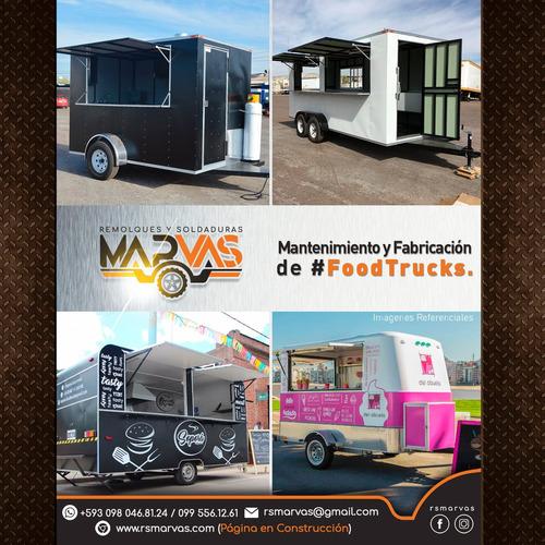 fabrica de remolques food truck , trailers de comida rápida