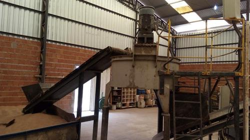 fábrica de telha de cimento completa