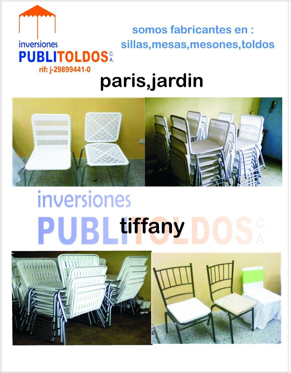 Fabrica de toldos sillas mesas cavas para festejos en for Sillas para festejos