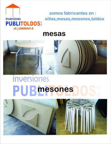 fabrica de toldos sillas mesas cavas para festejos