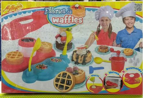 fabrica de waffles mi alegría