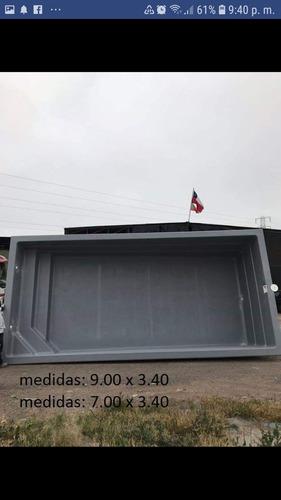 fábrica e instalación de piscinas de fibra de vidrio