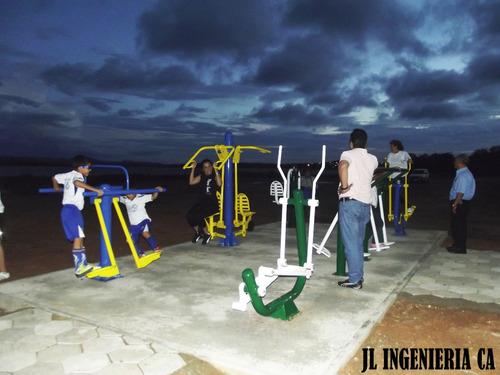 fabrica equipos de gimnasia biosaludables parques infantiles