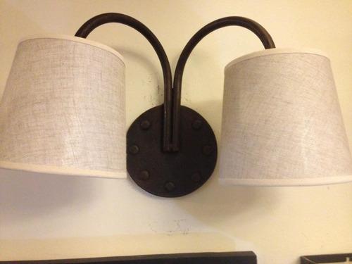 fabrica iluminacion hierro forjado,aplique de pared,arañas