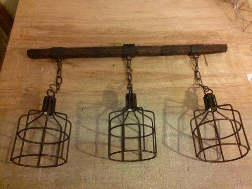 fabrica lamparas hierro,colgante,araña,vintage,decoracion