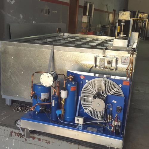 fabrica maquina de hielo de 20 barras de 25 kilos cada uno