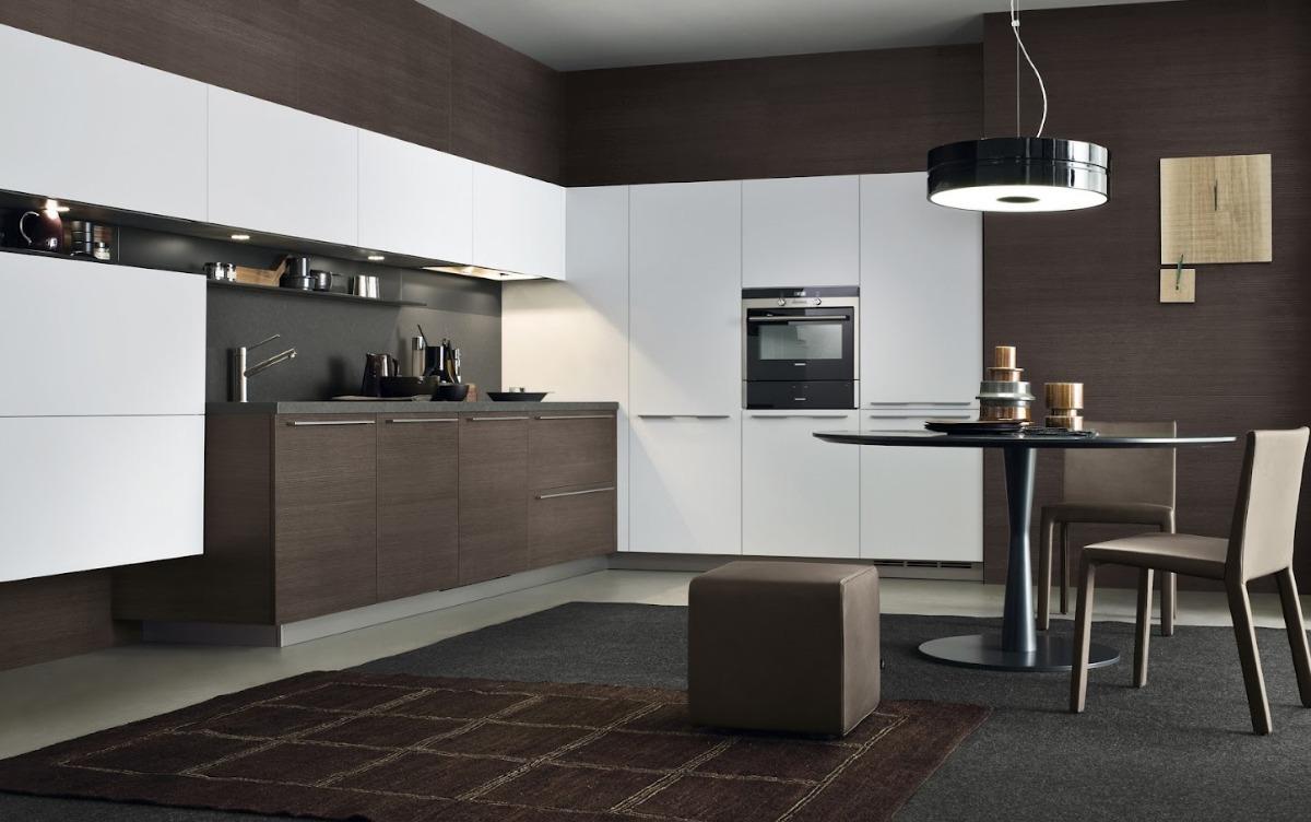 Fábrica Muebles Cocina Melamina. Combo Alacena + Bajomesada