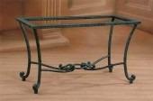 fabrica muebles en hierro forjado,decoracion,mesa de living