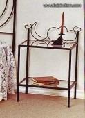 fabrica  muebles en hierro forjado,mesas de luz,dormitorios