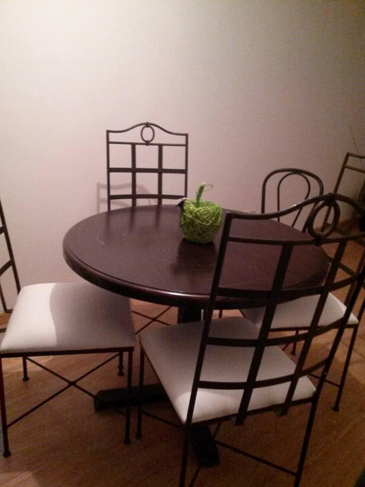 Fabrica muebles hierro forjado decoracion interiores for Muebles de fierro forjado