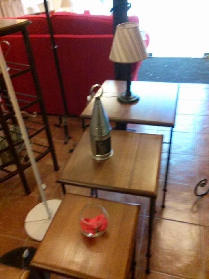 Fabrica muebles hierro forjado decoracion mesas nido for Fabrica muebles uruguay