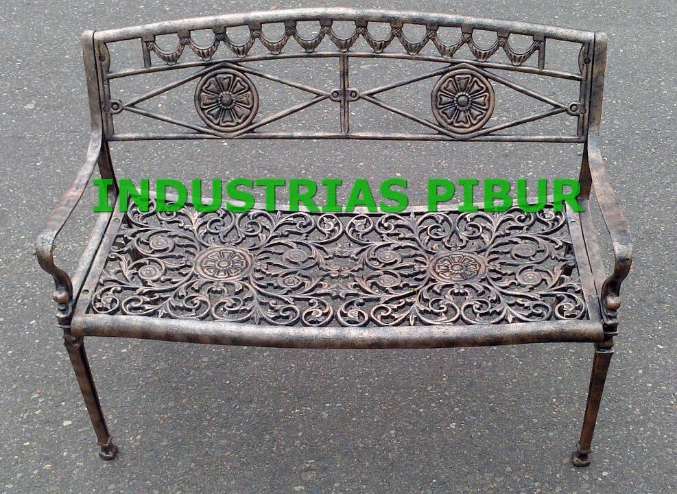 fabrica muebles para exterior banca 2 puestos