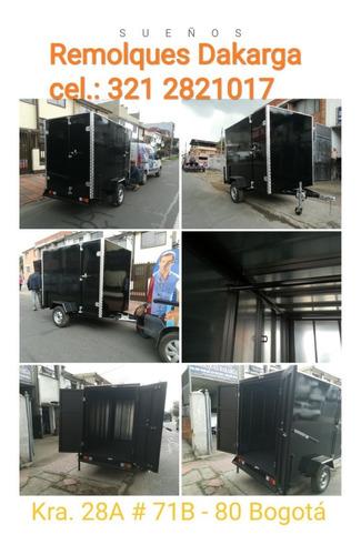 fabrica remolques transportemaquinaria,motos,oficinasmoviles