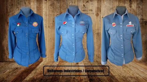 fabrica uniformes industriales/corporativos ambos sexos