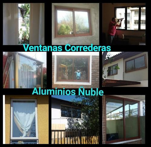 fabricaciòn y instalaciòn de ventanas de aluminio
